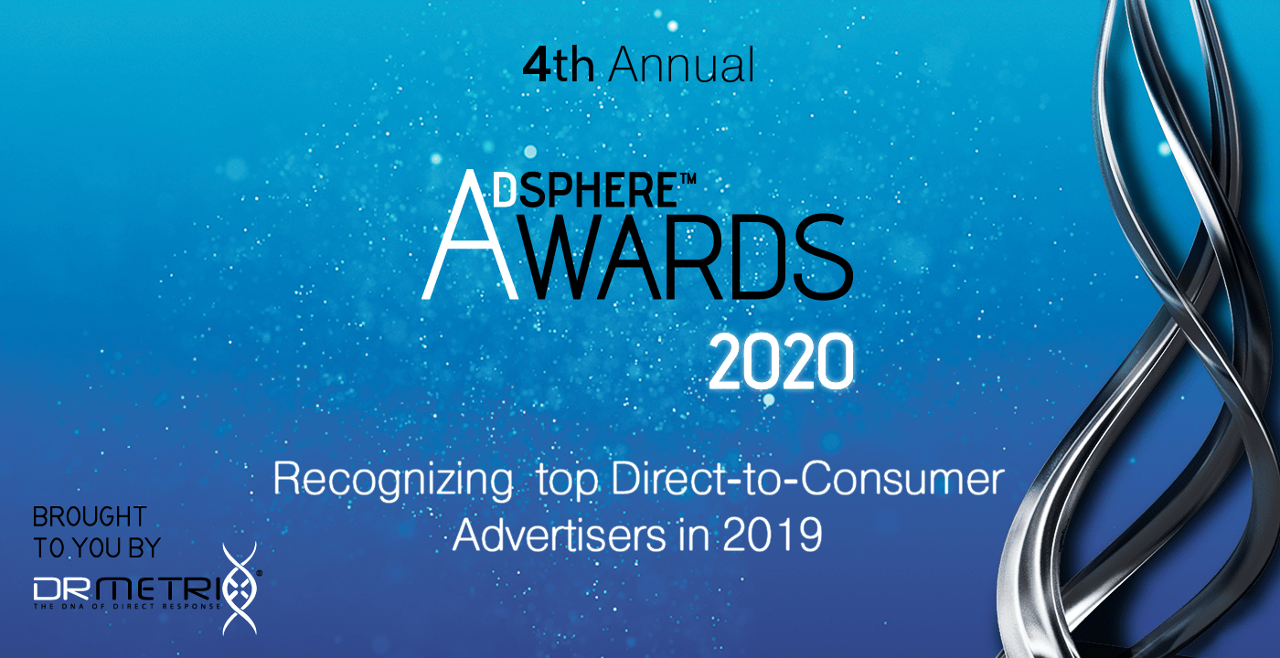 4th Annual AdSphere™ Awards Recognizing Top Direct-to-Consumer Advertisers in 2019
